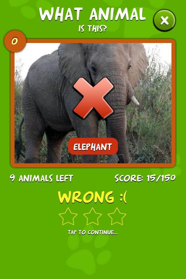 最好的动物测验 - 免费猜字图片游戏