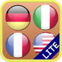 Flags Matching Game Lite icon