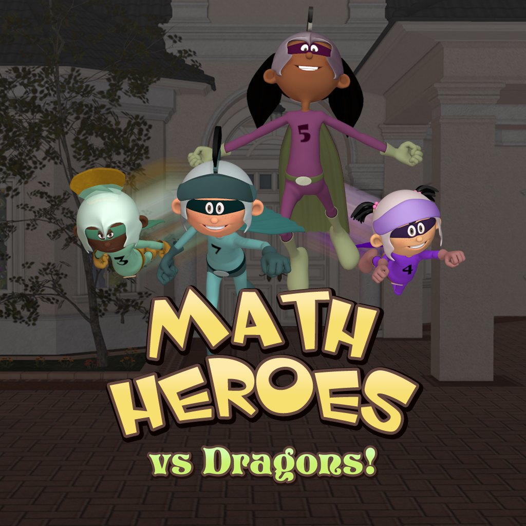 mzl.fkhrcvcl Math Heroes vs Dragons by 12 Fingers Studio  Review + Giveaway